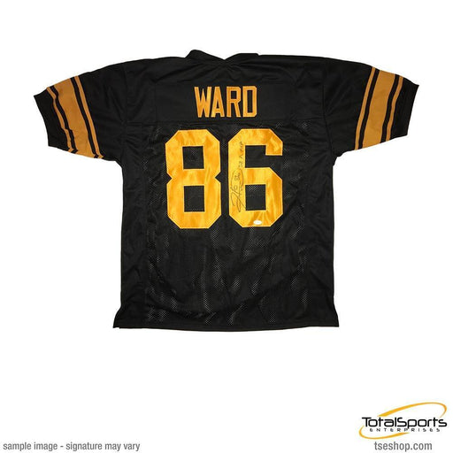 "Hines Ward Autographed Custom Holiday Jersey Inscribed ""SB XL MVP"""
