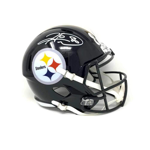 Hines Ward Autographed Pittsburgh Steelers Black SPEED Replica Helmet