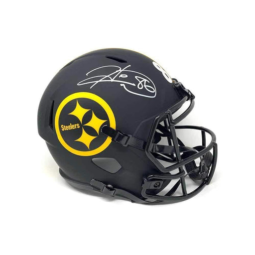Hines Ward Autographed Pittsburgh Steelers Replica ECLIPSE Helmet