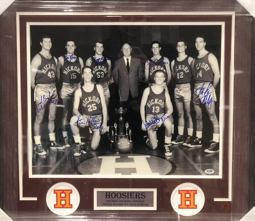 Hoosiers Cast Signed 16x20 Photo - Professionally Framed
