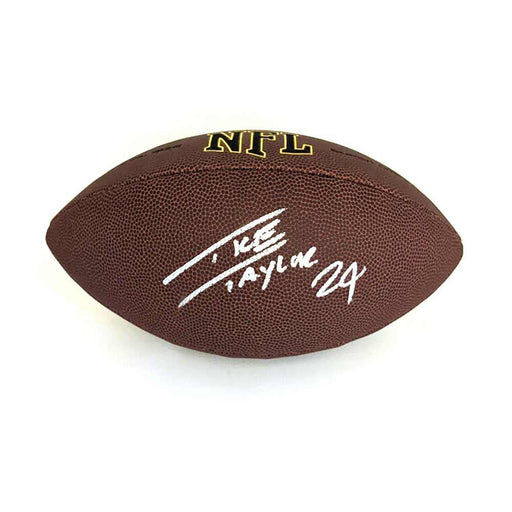 Ike Taylor Signed Wilson Replica Football