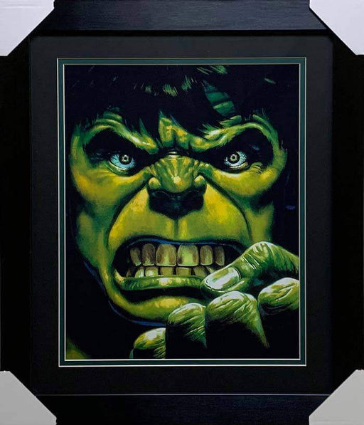 Incredible Hulk Unsigned 16x20 Photo - Professionally Framed