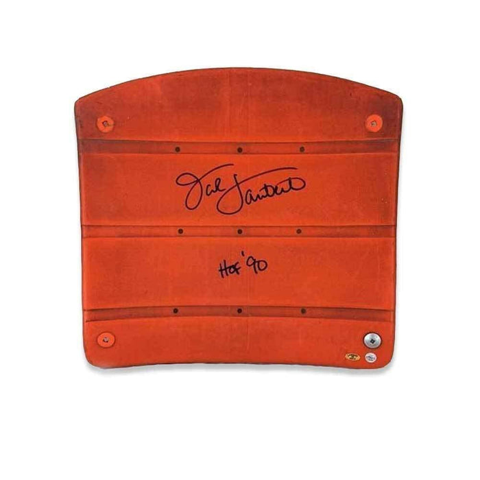 "Jack Lambert Authentic Signed 3 Rivers Stadium Seat with ""HOF 90"""