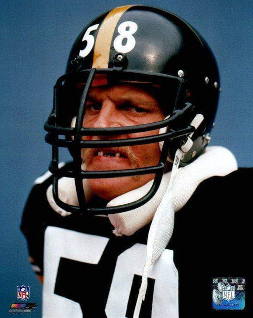 Jack Lambert No Teeth Portrait Unsigned Licensed 8x10