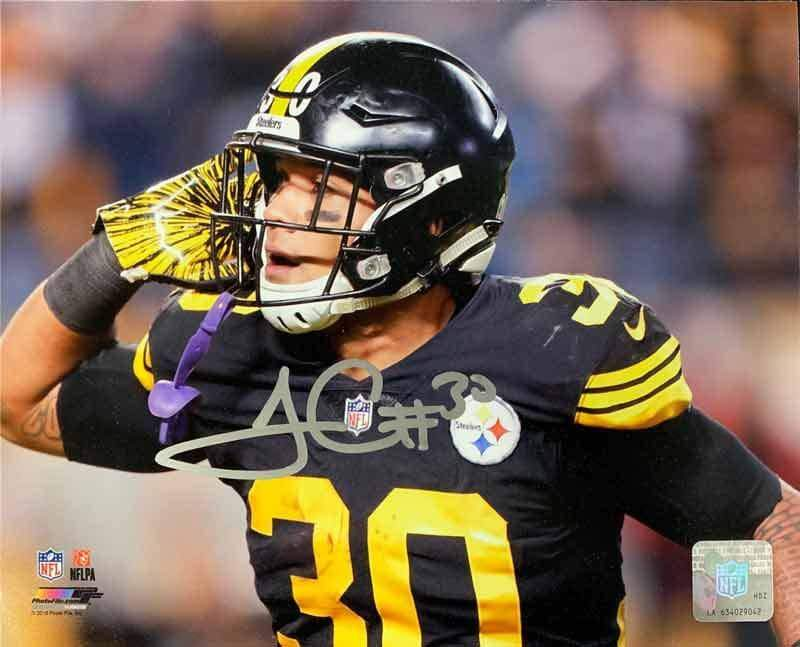 James Conner Autographed Can't Hear You 8x10 Photo