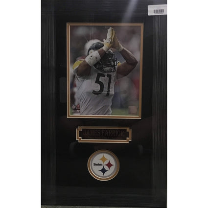 James Farrior Signaling Safety 8x10 Unsigned - Professionally Framed