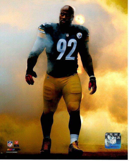 James Harrison Entrance in Smoke Unsigned Licensed 8x10 Photo