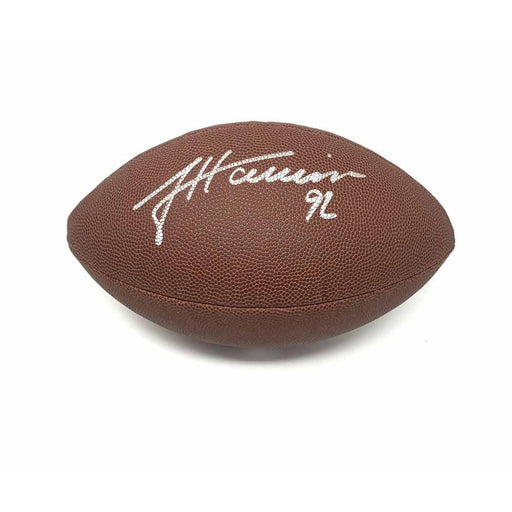 James Harrison Signed Wilson Replica Football
