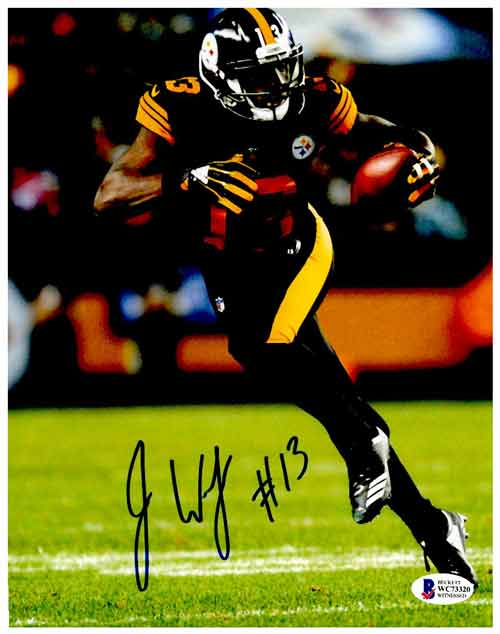 James Washington Signed Running in Color Rush 8x10 Photo