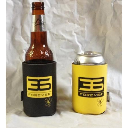 Jerome Bettis 36 Forever Koozie in Gold or Black Black