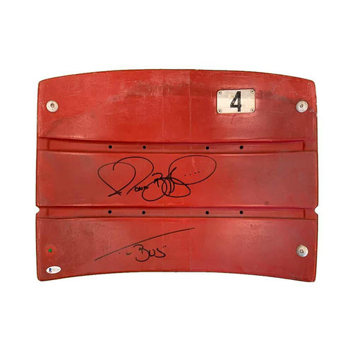 "Jerome Bettis Autographed Authentic 3 Rivers Stadium Seatback with ""Bus"""