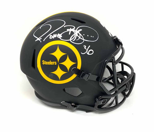 Jerome Bettis Autographed Pittsburgh Steelers Eclipse Mini Helmet