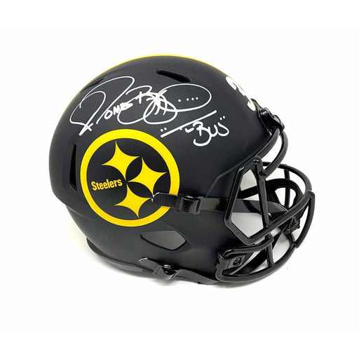 Jerome Bettis Autographed Pittsburgh Steelers Eclipse Replica Helmet with The Bus