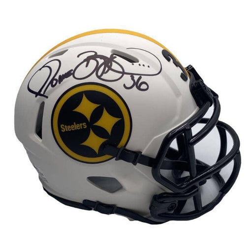 Jerome Bettis Autographed Pittsburgh Steelers Lunar Eclipse Mini Helmet