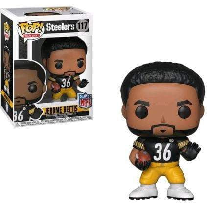 Jerome Bettis Funko Pop! Figure in Black Jersey