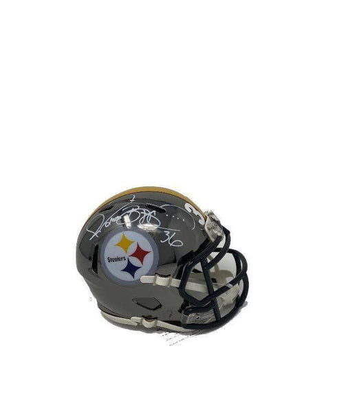 Jerome Bettis Pittsburgh Steelers Autographed Chrome Mini Helmet