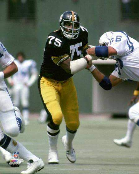 Joe Greene UNSIGNED Vs. Colts 16x20 Photo