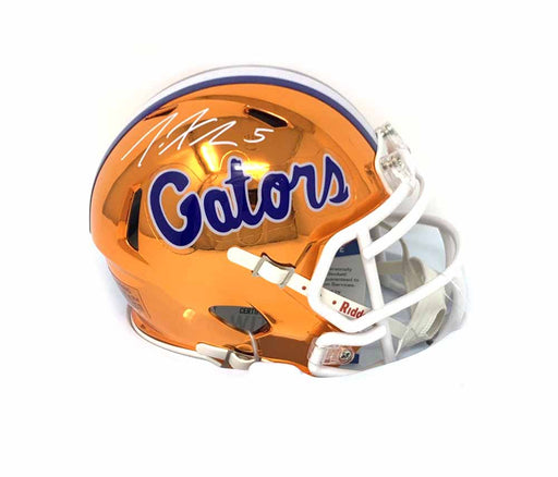 Joe Haden Signed Florida Gators Chrome Mini Helmet