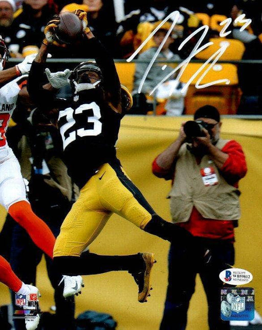 Joe Haden Signed Interceotion vs. Browns 8x10 Photo