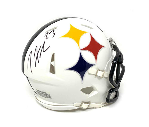 Joe Haden Signed Pittsburgh Steelers AMP SPEED Mini Helmet