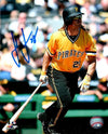 John Jaso Autographed Bat Down in Yellow 8x10 Photo