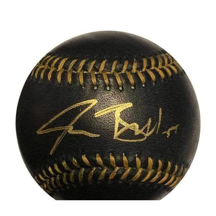 Josh Bell Signed Official MLB Black Baseball