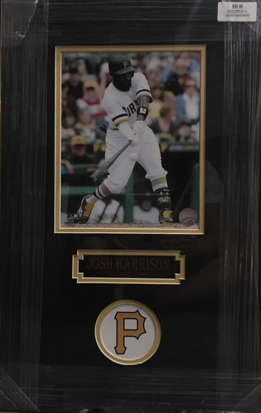 Josh Harrison Batting 8x10 Unsigned - Professionally Framed