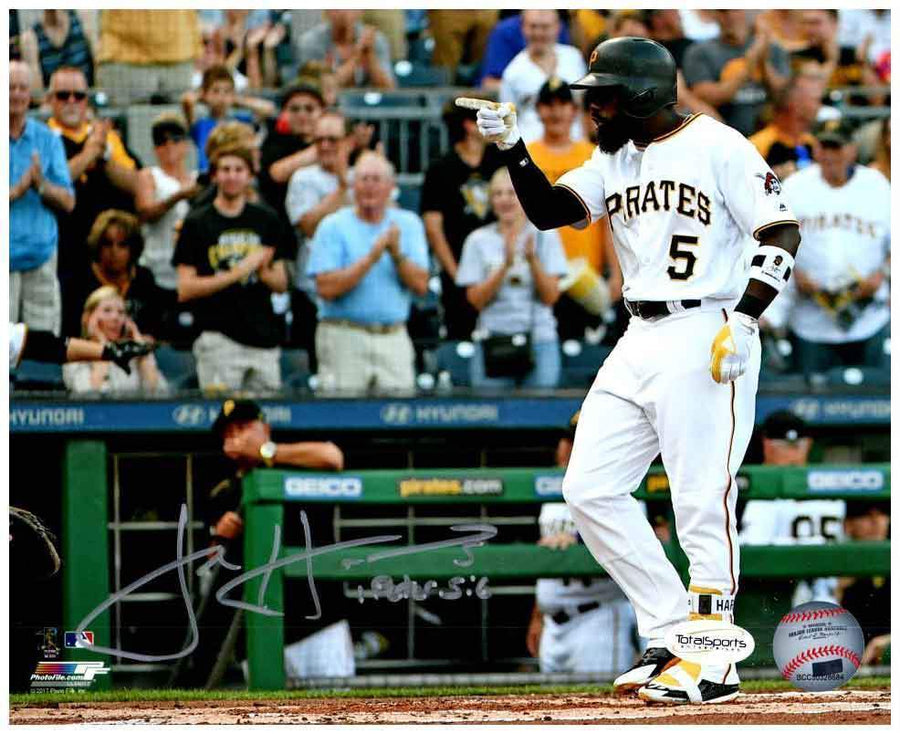 Josh Harrison Signed Pointing 8x10 Photo