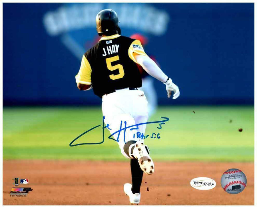 Josh Harrison Signed Running (Rear View)  8x10 Photo