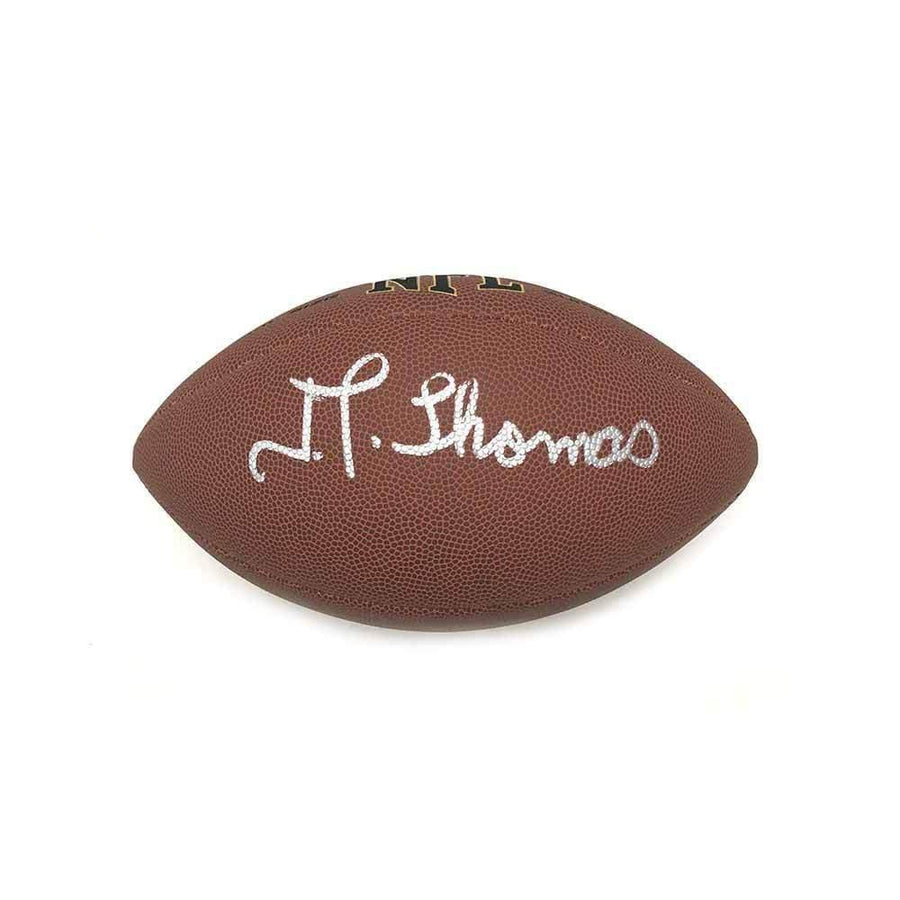 JT Thomas Autographed Replica Football