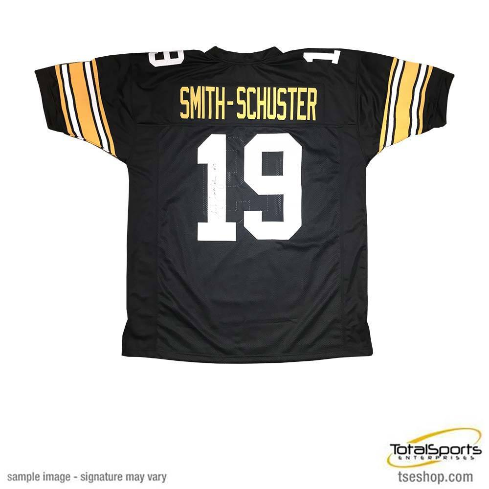 new arrivals 96858 34112 JuJu Smith-Schuster Signed Custom 2018-2019 Throwback Jersey