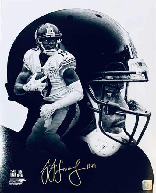 JuJu Smith-Schuster Signed Custom B&W 16x20 Photo