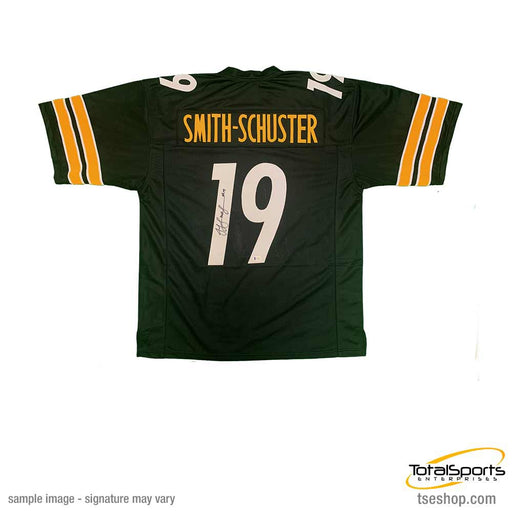 JuJu Smith-Schuster Signed Custom Black Jersey