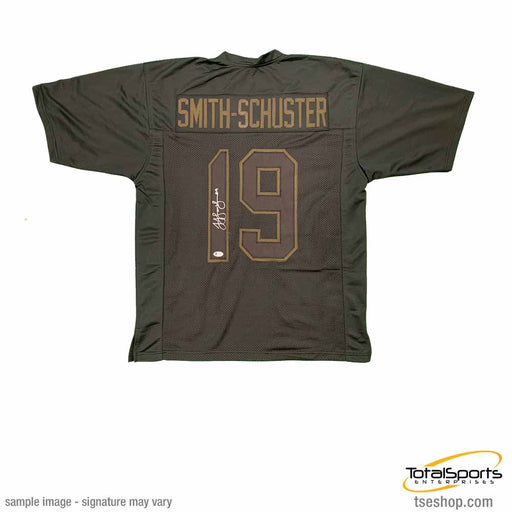 Juju Smith-Schuster Signed Custom Blackout Jersey
