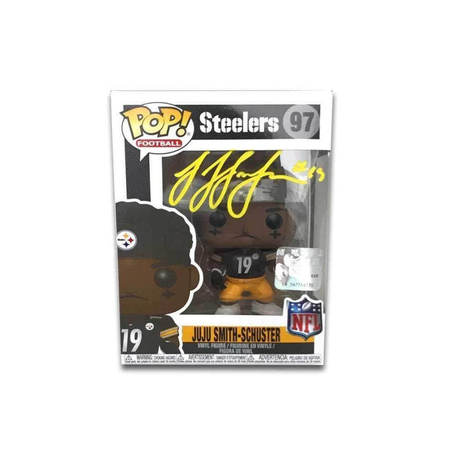 JuJu Smith-Schuster Signed Funko Pop