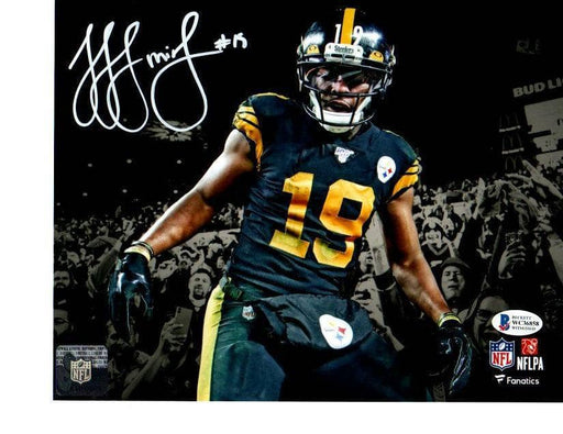 JuJu Smith-Schuster Signed in Stands in Color Rush Spotlight 8x10 Photo