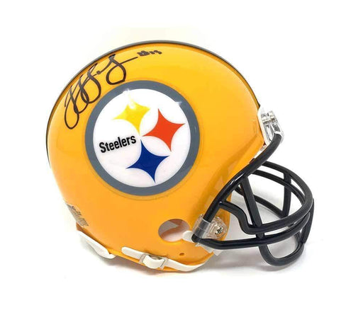 JuJu Smith-Schuster Signed Pittsburgh Steelers 75th Anniversary Mini Helmet