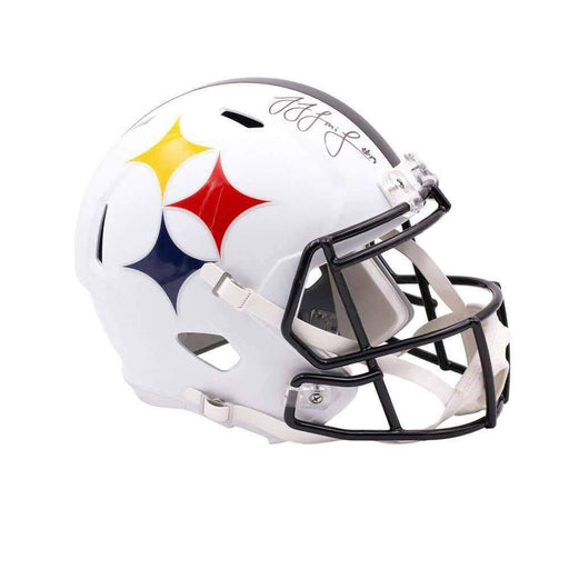 JuJu Smith-Schuster Signed Pittsburgh Steelers AMP SPEED Replica Full Size Helmet