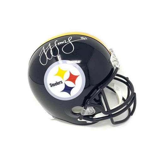 JuJu Smith-Schuster Signed Pittsburgh Steelers Replica Full Size Helmet