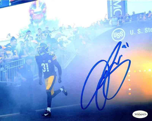 Justin Layne Signed Entrance 8x10 Photo