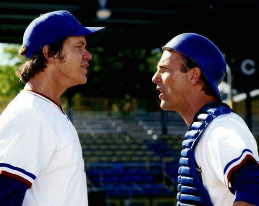 Kevin Costner and Tim Robbins Bull Durham Unsigned 8x10 Photo