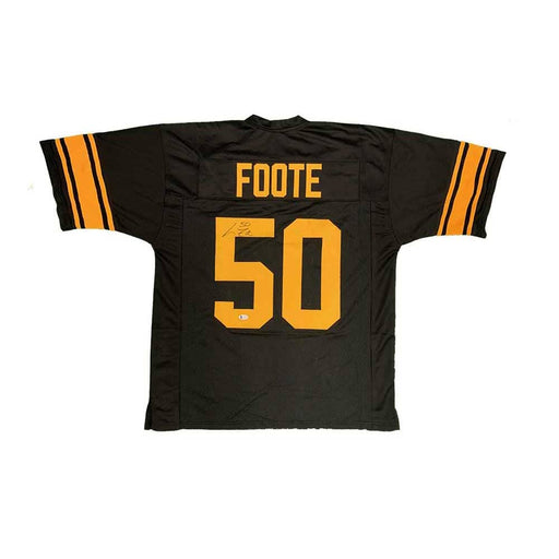 Larry Foote Autographed Custom Alternate Football Jersey