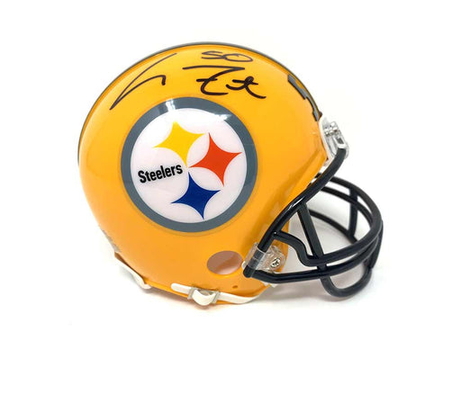 Larry Foote Autographed Pittsburgh Steelers 75th Anniversary Mini Helmet