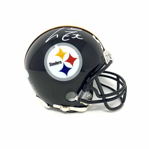 Larry Foote Autographed Pittsburgh Steelers Black SB XLIII Mini Helmet