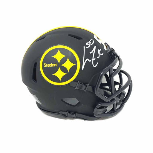 Larry Foote Autographed Pittsburgh Steelers Eclipse Mini Helmet