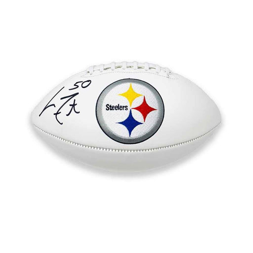 Larry Foote Autographed Pittsburgh Steelers  SB Edition White Logo Football