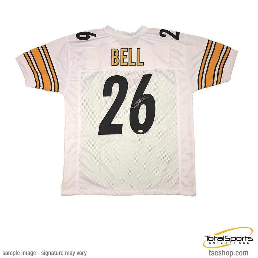 3d3a31d72 Signed STEELERS Jerseys Le Veon Bell Autographed White  26 Custom Jersey