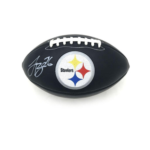 Le'Veon Bell Signed Steeler Black Matte Logo Football