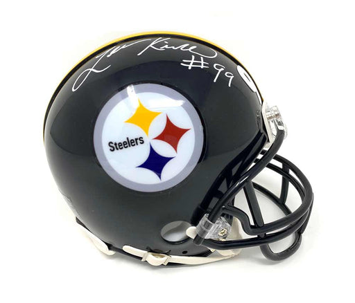 Levon Kirkland Autographed Pittsburgh Steelers Black Mini Helmet