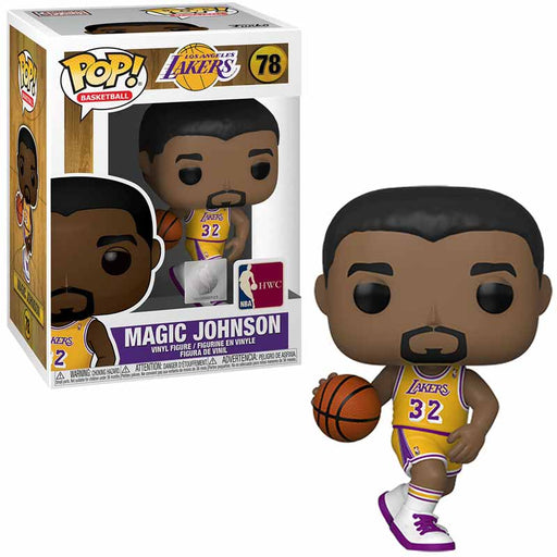 Magic Johnson Funko Pop! Figure with Protector